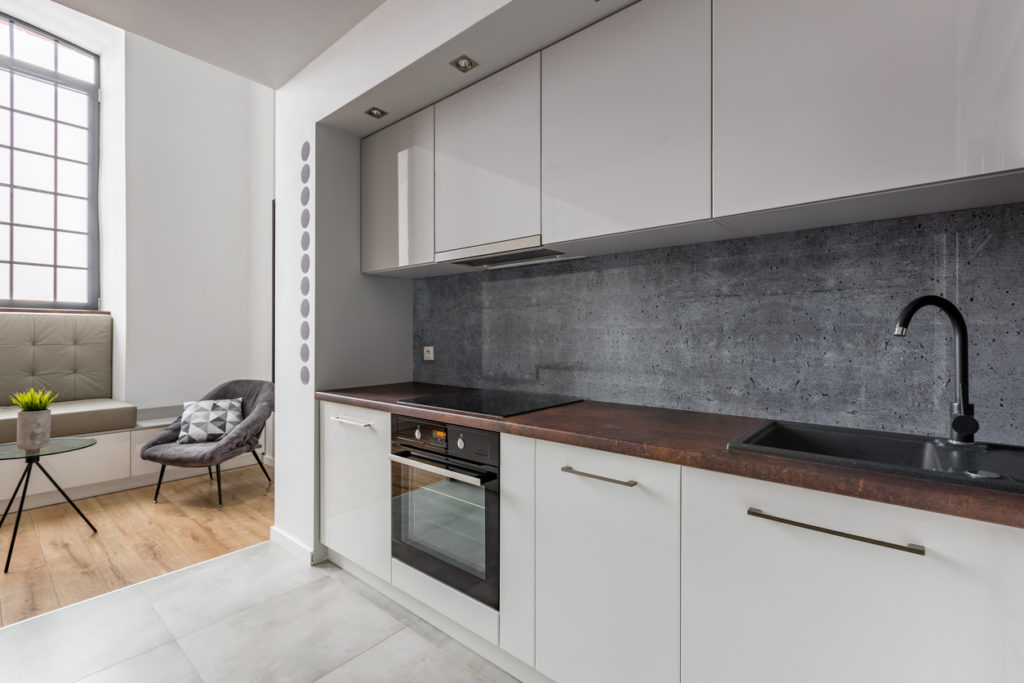 Kuchyňa z pohľadového betónu