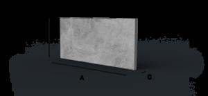 veľkoformátová dlažba Renit beton